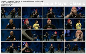 The Exploited - no Estúdio Showlivre [4.12.2013]