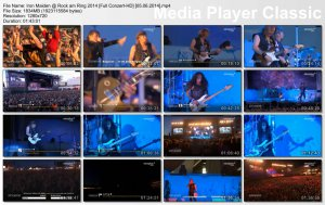 Iron Maiden - Rock am Ring 2014 [05.06.2014]