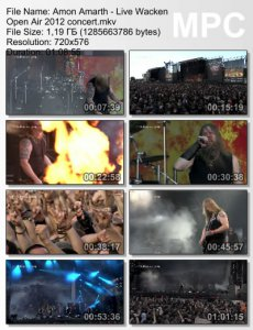 Amon Amarth - Live Wacken Open Air [2012]